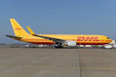DHL Air (UK) Boeing 767-3JHF ER WL G-DHLE (msn 37805) AMS (Ton Jochems). Image: 950094.