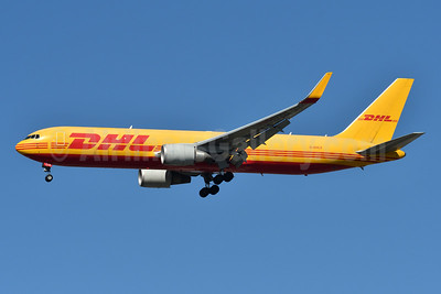 DHL Air (UK) Boeing 767-3JHF ER WL G-DHLE (msn 37805) JFK (Fred Freketic). Image: 950096.