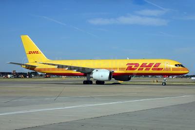 DHL Air (UK) Boeing 757-236 (F) G-BIKP (msn 22188) LHR (SPA). Image: 929341.
