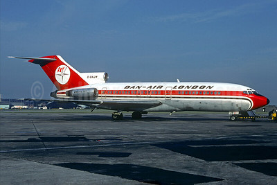 Dan-Air London (Dan-Air Services) Boeing 727-46 G-BAJW (msn 18878) (Christian Volpati Collection). Image: 931612.