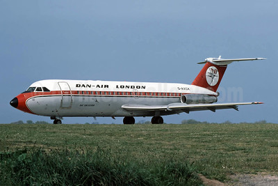 Dan-Air London (Dan-Air Services) BAC 1-11 401AK G-AXCK (msn 090) JER (Richard Vandervord). Image: 949080.