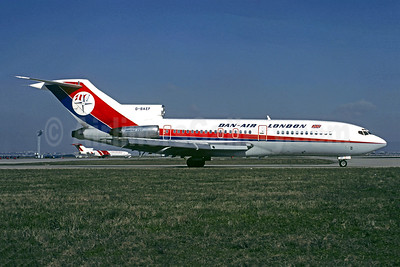 Dan-Air London (Dan-Air Services) Boeing 727-46 G-BAEF (msn 18879) ORY (Christian Volpati). Image: 942830.