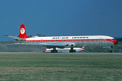 Dan-Air London (Dan-Air Services) de Havilland DH.106 Comet 4B G-ARJK (msn 06452) (Christian Volpati Collection). Image: 921651.