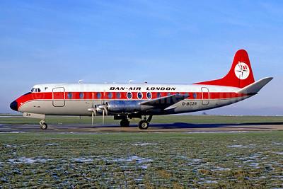 Dan-Air London (Dan-Air Services) Vickers Viscount 839 G-BCZR (msn 446) LTN (Christian Volpati Collection). Image: 953418.