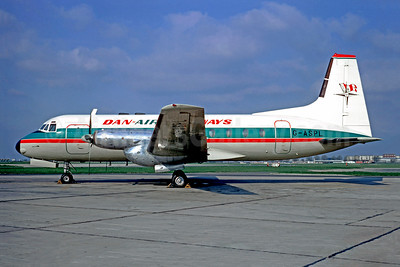 Dan-Air Skyways Hawker Siddeley HS.748-108 Series 2A G-ASPL (msn 1560) (Skyways International colors) LBG (Christian Volpati). Image: 948708.