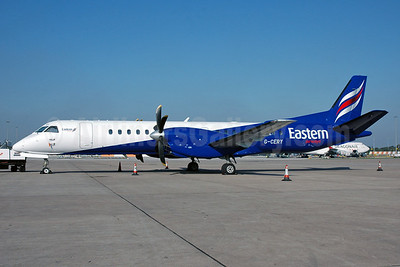 Eastern Airways SAAB 2000 G-CERY (msn 008) MAN (Nik French). Image: 921982.
