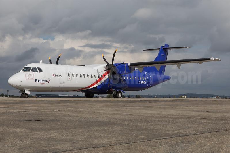 Eastern Airways' first ATR 72-600