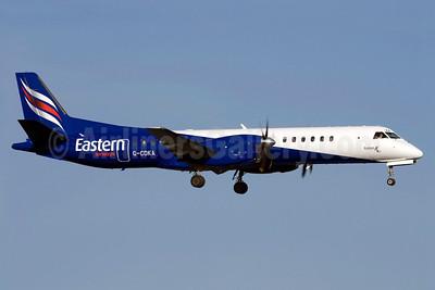 Eastern Airways SAAB 2000 G-CDKA (msn 006) ARN (Stefan Sjogren). Image: 921980.
