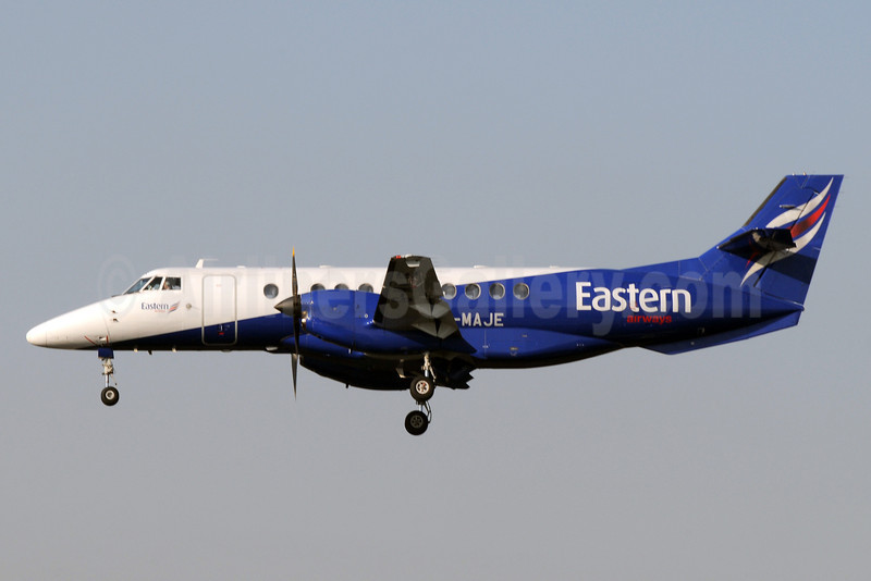 Eastern Airways BAe Jetstream 41 G-MAJE (msn 41007) MAN (Rob Skinkis). Image: 921983.