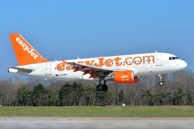 easyJet (easyJet.com) (UK) Airbus A319-111 G-EZAN (msn 2765) BSL (Paul Bannwarth). Image: 934536.