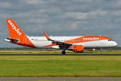 easyJet (UK) Airbus A320-214 WL G-EZPA (msn 6970) AMS (Tony Storck). Image: 935968.