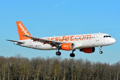 easyJet (easyJet.com) (UK) Airbus A320-214 G-EZTC (msn 3871) BSL (Paul Bannwarth). Image: