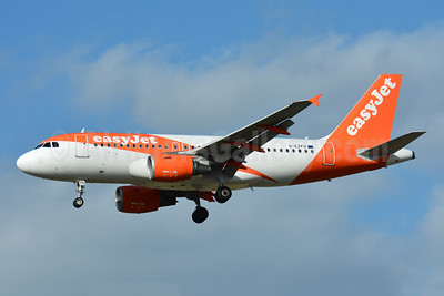 easyJet (UK) Airbus A319-111 G-EZFH (msn 3854) BSL (Paul Bannwarth). Image: 941510.