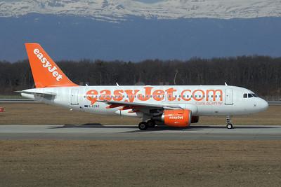 easyJet (easyJet.com) (UK) Airbus A319-111 G-EZAZ (msn 2829) GVA (Paul Denton). Image: 909951.