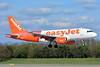 "easyJet (UK) Airbus A319-111 G-EZBF (msn 2923) (partial Tartan - ""Inverness"") BSL (Paul Bannwarth). Image: 937627."