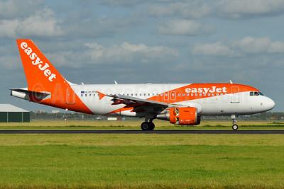 easyJet (UK) Airbus A319-111 G-EZFD (msn 3810) AMS (Tony Storck). Image: 938752.