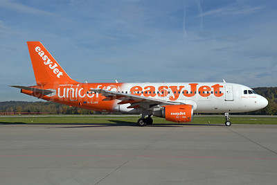 easyJet (UK) Airbus A319-111 G-EJAR (msn 2412) (Supporting UNICEF) ZRH (Rolf Wallner). Image: 939691.