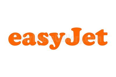 1. easyJet (UK) logo