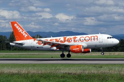 easyJet (easyJet.com) (UK) Airbus A319-111 G-EZBK (msn 3041) BSL (Paul Bannwarth). Image: 924164.