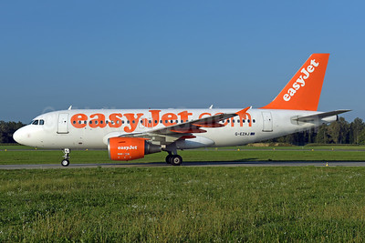 easyJet (easyJet.com) (UK) Airbus A319-111 G-EZAJ (msn 2742) ZRH (Rolf Wallner). Image: 943735.