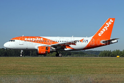 easyJet (UK) Airbus A319-111 G-EZDX (msn 3754) ZRH (Andi Hiltl). Image: 938329.
