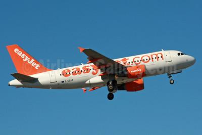 easyJet (easyJet.com) (UK) Airbus A319-111 G-EZAY (msn 2827) LGW (SPA). Image: 936038.