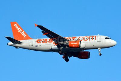easyJet (easyJet.com) (UK) Airbus A319-111 G-EZBJ (msn 3036) BSL (Paul Bannwarth). Image: 934539.