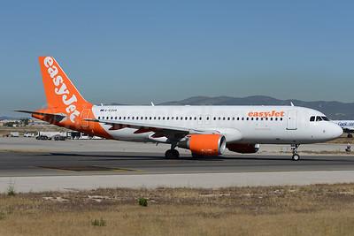 easyJet (UK) Airbus A320-214 G-EZUA (msn 4588) PMI (Ton Jochems). Image: 938755.