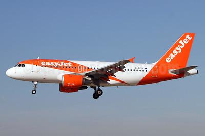 easyJet (UK) Airbus A319-111 G-EZFV (msn 4327) ZRH (Andi Hiltl). Image: 938750.