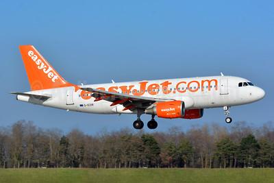 easyJet (easyJet.com) (UK) Airbus A319-111 G-EZIR (msn 2527) BSL (Paul Bannwarth). Image: 934538.