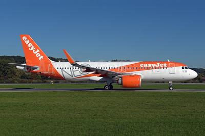 easyJet (UK) Airbus A320-251N WL G-UZHB (msn 7705) (NEO) ZRH (Rolf Wallner). Image: 943811.