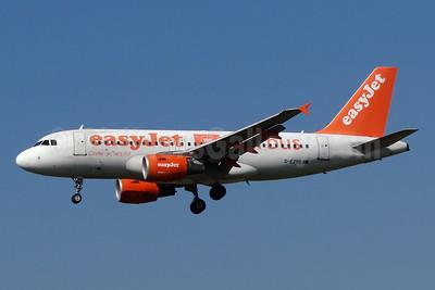 easyJet (easyJet.com) (UK) Airbus A319-111 G-EZBR (msn 3088) (Airbus 100) ZRH (Paul Bannwarth). Image: 924158.