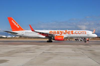 easyJet (easyJet.com) (UK)-Air Finland Boeing 757-2F2 WL OH-AFI (msn 26330) PMI (Ton Jochems). Image: 912541.