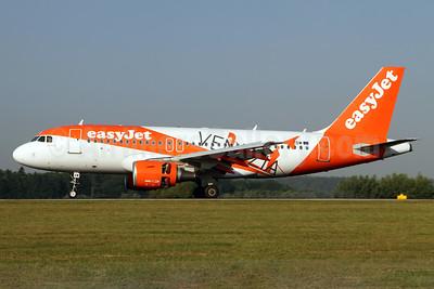 easyJet (UK) Airbus A319-111 G-EZDW (msn 3746) (Venezia) ZRH (Andi Hiltl). Image: 938289.