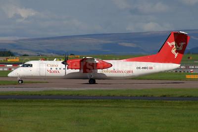 Euro Manx de Havilland Canada DHC-8-311 Dash 8 (Q300) OE-HBC (msn 533) MAN (Antony J. Best). Image: 945441.