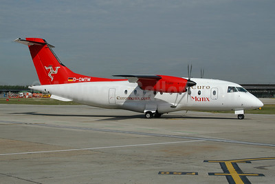 Euro Manx Dornier 328-110 D-CMTM (msn 3094) LCY (Ton Jochems). Image: 945442.