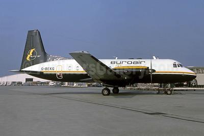 Euroair (UK) Hawker-Siddeley HS.748-105 Series 1 G-BEKG (msn 1557) CDG (Christian Volpati Collection). Image: 942434.