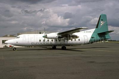 Euroceltic Airways Fokker F.27 Mk. 500 G-ECAH (msn 10669) LYX (Antony J. Best). Image: 951235.