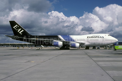 European Aviation AirCharter-EAL Boeing 747-236B G-BDXH (msn 21535) LGW (Rolf Wallner). Image: 944832.