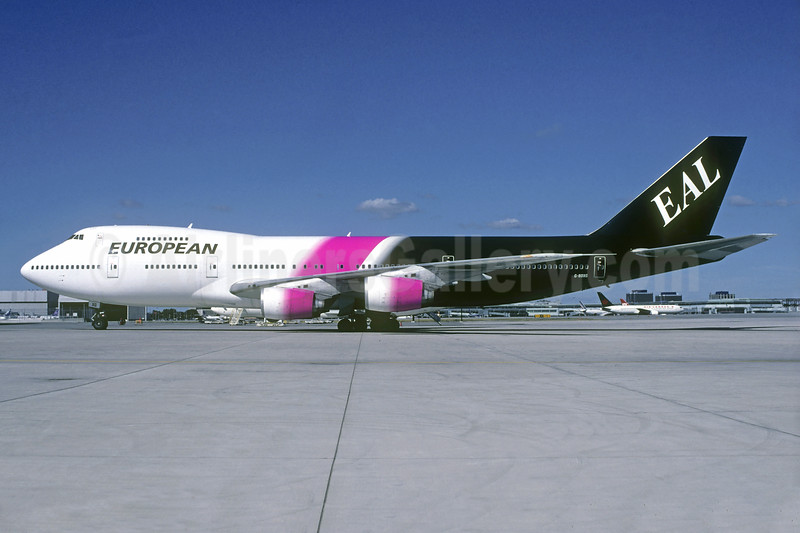 European Aviation AirCharter-EAL Boeing 747-236B G-BDXG (msn 21536) YYZ (Christian Volpati Collection). Image: 938011.