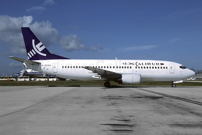 Excalibur Airways Boeing 737-3Q8 G-OCHA (msn 24068) CDG (Christian Volpati). Image: 944546.