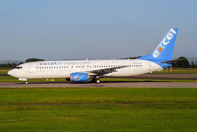 Excel Airways (excelairways.com) Boeing 737-8Q8 G-XLAA (msn 28226) MAN (Wingnut). Image: 943985.