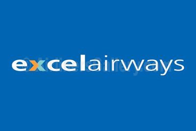 1. Excel Airways logo