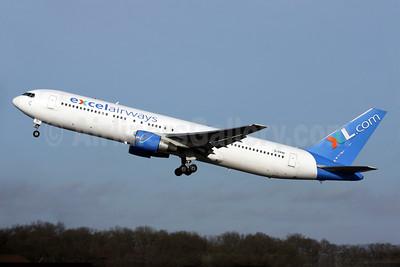 Excel Airways (excelairways)-XL.com Boeing 767-383 ER G-VKNI (msn 24358) LGW (Antony J. Best). Image: 902080.