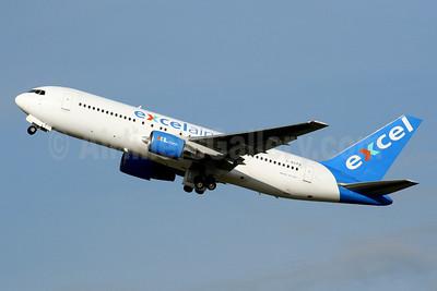 Excel Airways (excelairways)-XL.com Boeing 767-204 ER G-BOPB (msn 24239) GVA (Jean-Luc Altherr - Bruce Drum Collection). Image: 930816.
