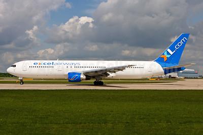 Excel Airways (excelairways)-XL.com Boeing 767-3Y0 ER G-VKNH (msn 26204) MAN (Gunter Mayer). Image: 930827.