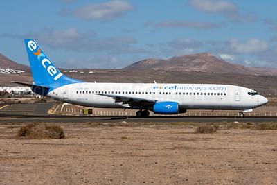 Excel Airways (excelairways.com) Boeing 737-81Q G-XLAC (msn 29051) ACE (Gunter Mayer). Image: 930820.
