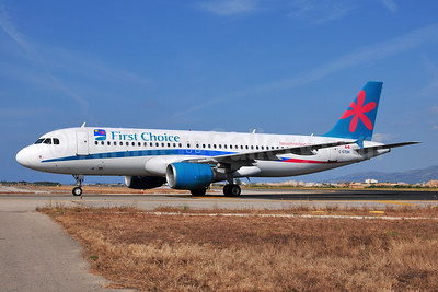 First Choice Airways (Skyservice Airlines) Airbus A320-214 C-GTDH (msn 1605) PMI (Ton Jochems). Image: 952910.