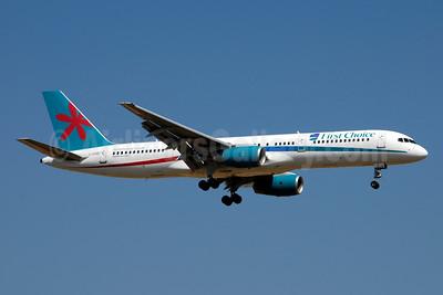 First Choice Airways Boeing 757-28A G-OOBF (msn 33101) PMI (Ton Jochems). Image: 952904.
