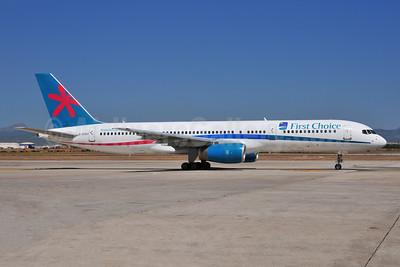First Choice Airways Boeing 757-2Y0 G-CPEP (msn 25268) PMI (Ton Jochems). Image: 952899.